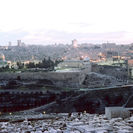 Almost every trip to the Holy Land includes a tour of Jerusalem.