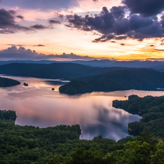Lakes Near Greenville, South Carolina