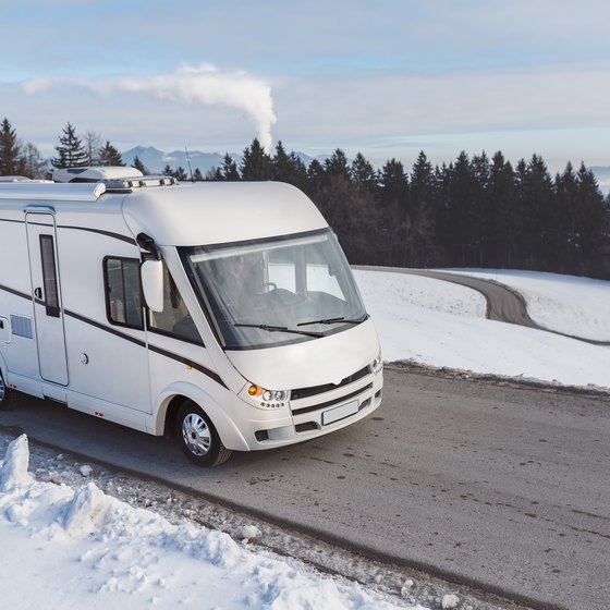 RV Parks in Maine in the Winter