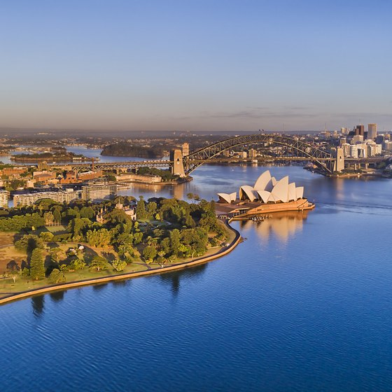 Short Cruises From Auckland, New Zealand, to Sydney, Australia