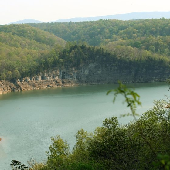 Largest Lakes in Kentucky