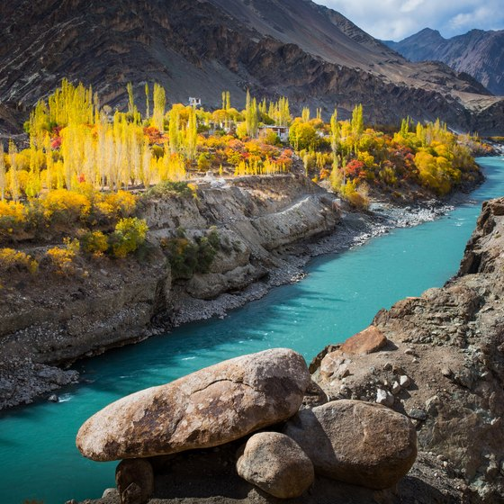 Famous Sites Along the Indus River
