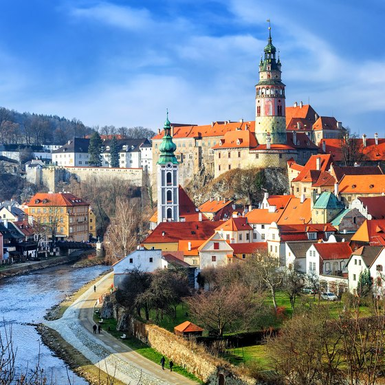 Landmarks in the the Czech Republic