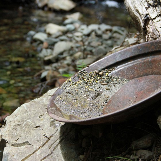 Gold Panning in Maryland