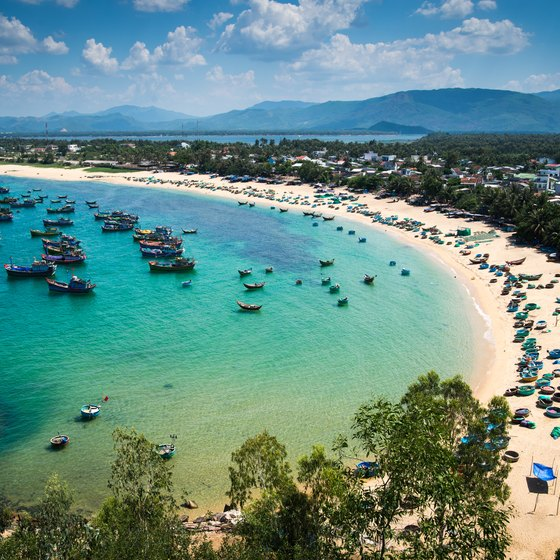 Beaches Close to Ho Chi Minh City, Vietnam