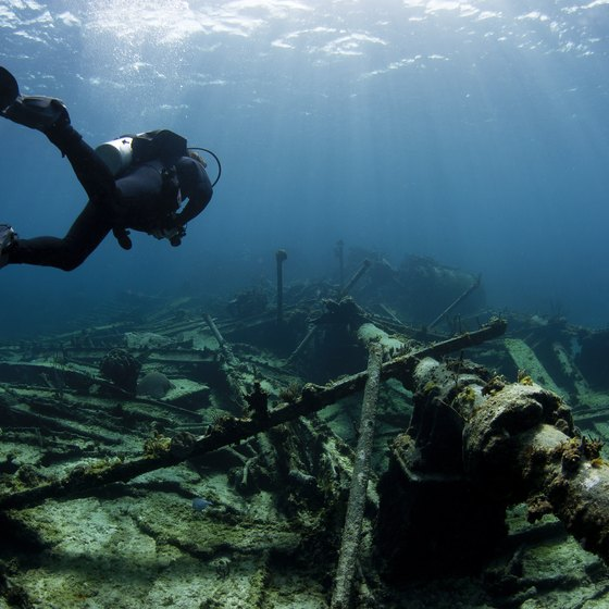 Places to Scuba Dive in Florida
