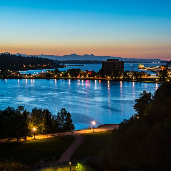 Beaches in Olympia, Washington