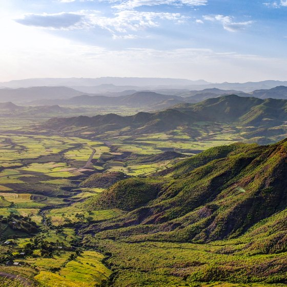 What Type of Landforms Cover Ethiopia?