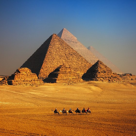 Great Pyramids of Giza Facts