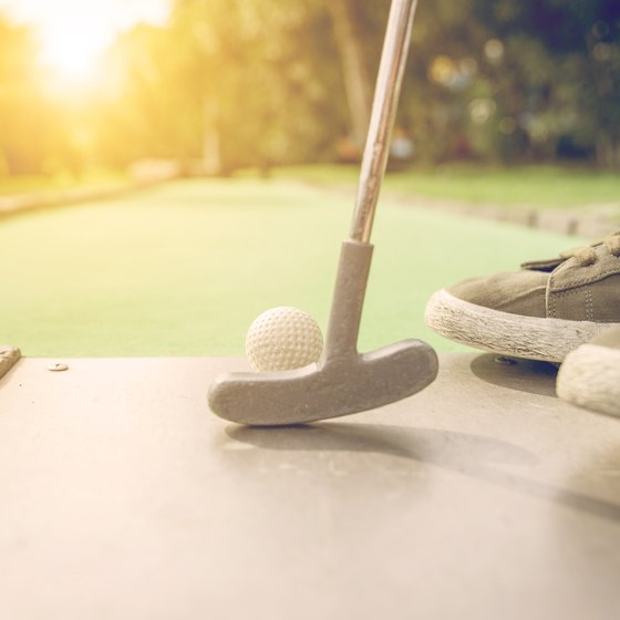 Indoor Miniature Golf Places in Illinois