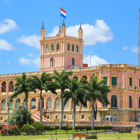 Historical Monuments in Asuncion, Paraguay