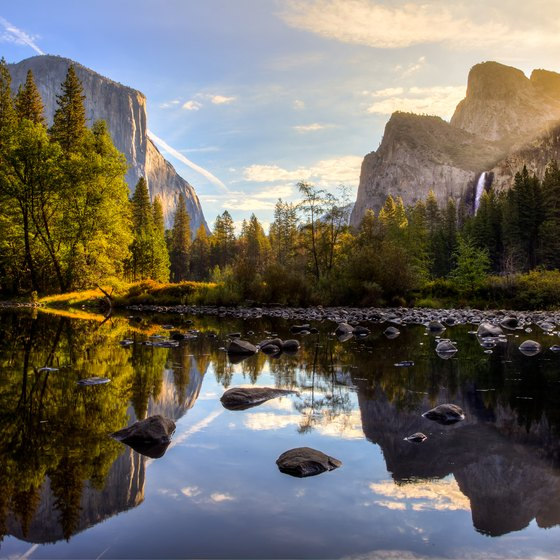 What Are the Landforms of Yosemite National Parks?