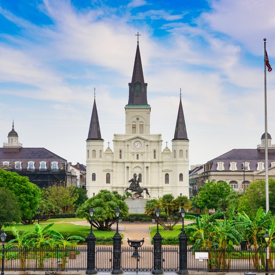 the history of the saint louis cathedral in new orleans usa today