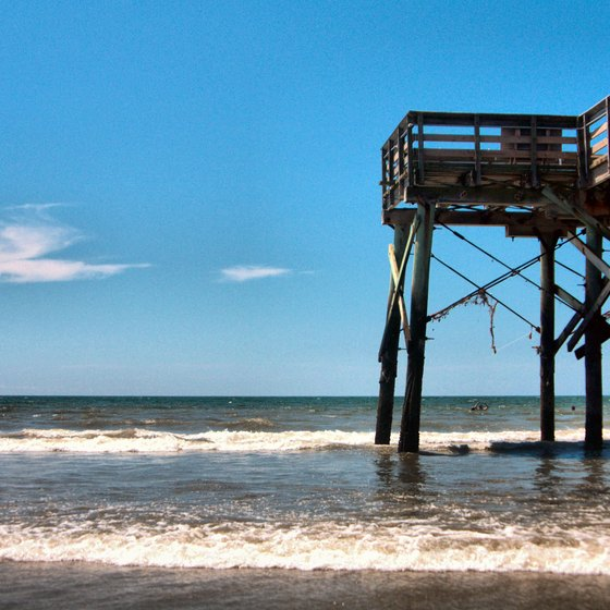 Fishing on the Isle of Palms, South Carolina