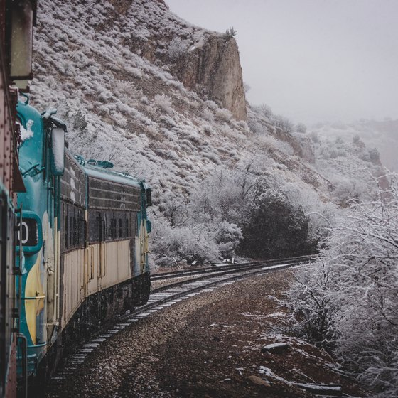 Scenic Train Rides to National Parks in the Southwest USA