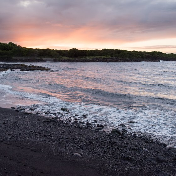 Black-Sand Beaches in Costa Rica