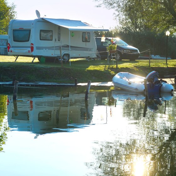 Waterfront RV Parks in Wisconsin