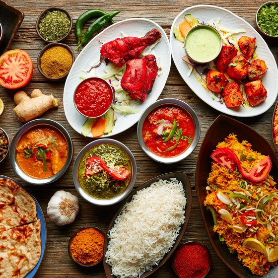 Typical Food of India