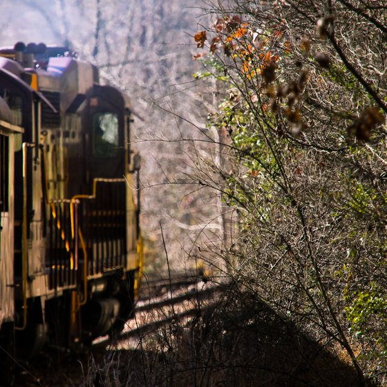 Appalachian Mountain Train Rides