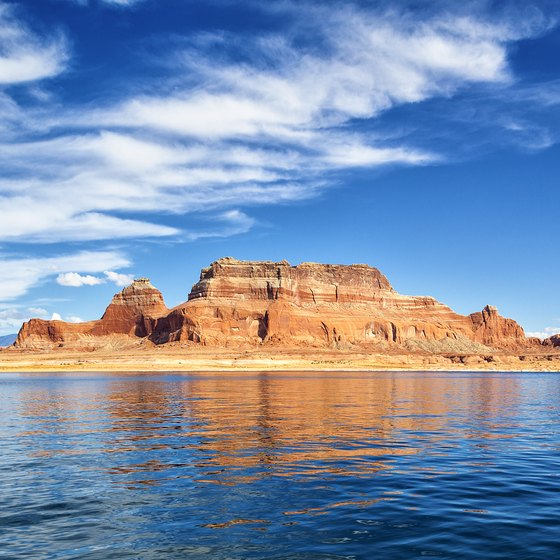 Things to Do Close to Bullfrog Marina on Lake Powell