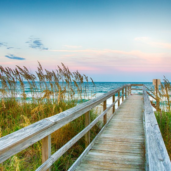 Campgrounds in Wilmington Beach, North Carolina