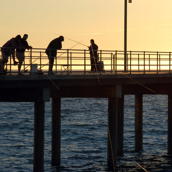 Fishing Spots in Wynnum Manly, QLD, Australia