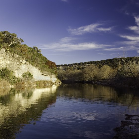 Camping & Tubing on the Guadalupe River in Texas