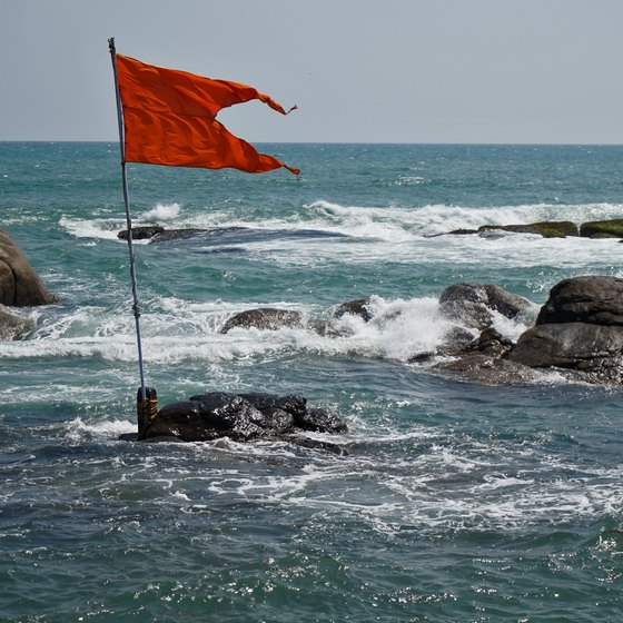 What Do Beach Warning Flags Mean?