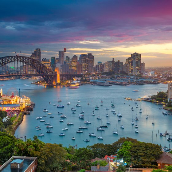 Famous Buildings in Sydney Australia