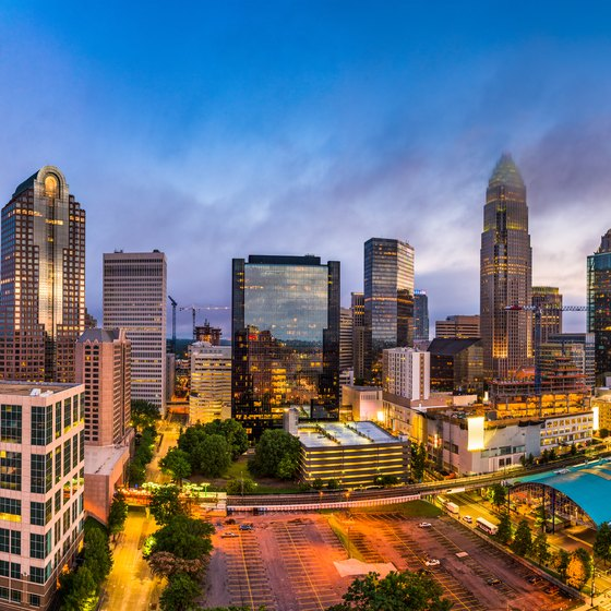 Hotels With Honeymoon Suites in Charlotte, North Carolina