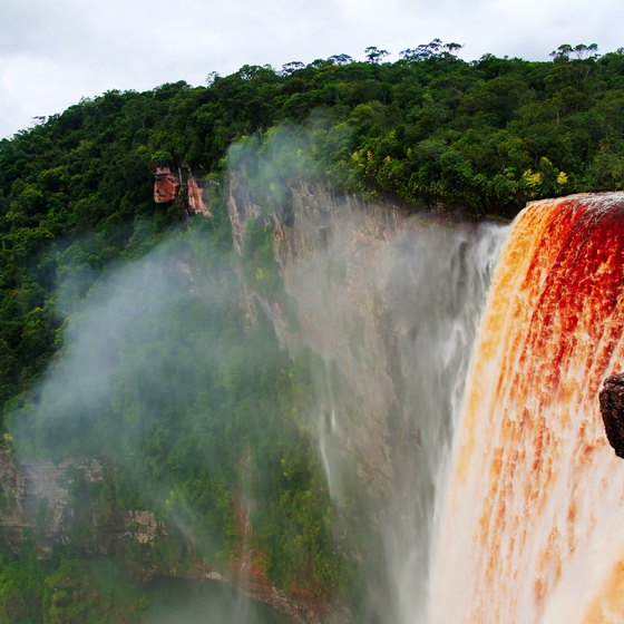 Waterfalls in Guyana