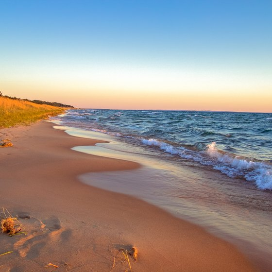 Beaches in Eastern Michigan