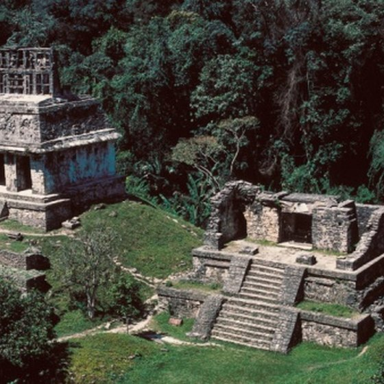 The state of Chiapas is home to Mayan ruins in Palenque.