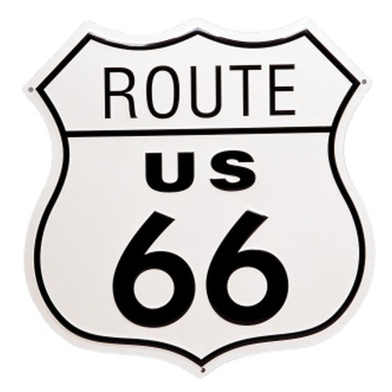 Route 66 ran 2,447 miles from Chicago to Santa Monica.