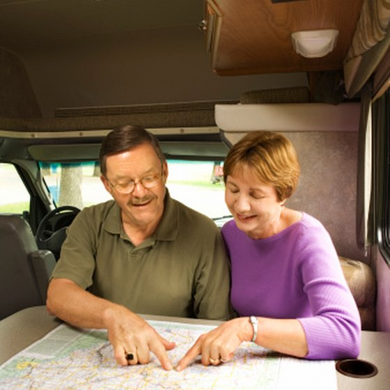Plan your RV trip to the Woodward area.