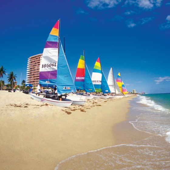 Fort Lauderdale's beaches are among the closest to Plantation, Florida.
