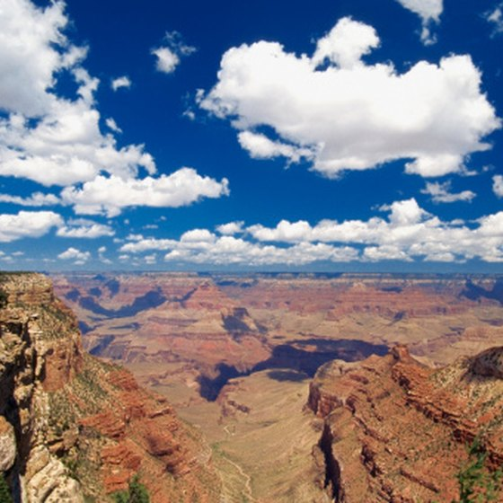 Less than five hours from Las Vegas, the Grand Canyon is a great weekend camping destination.