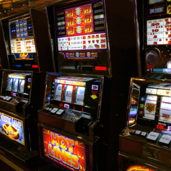 Take a bus to play some of California's casino slot machines.
