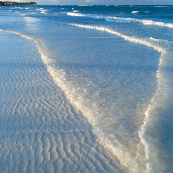 The Bahamas has miles long beaches perfect for walking barefoot.