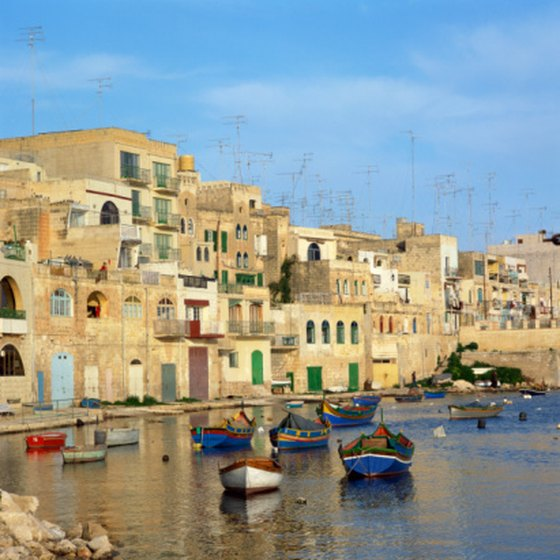 Traditional fishing boats continue to grace Malta's shores.