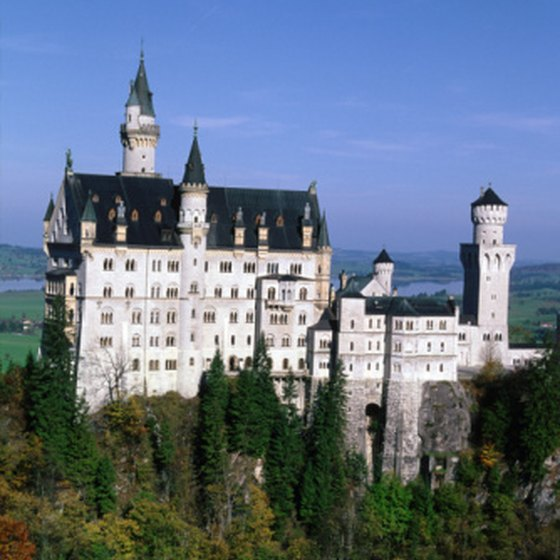 Ludwig II spent only 172 days living within Neuschwanstein.