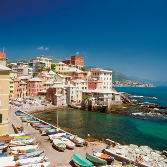 Genoa's location on the northern Italian coastline near France makes it a convenient location to visit.