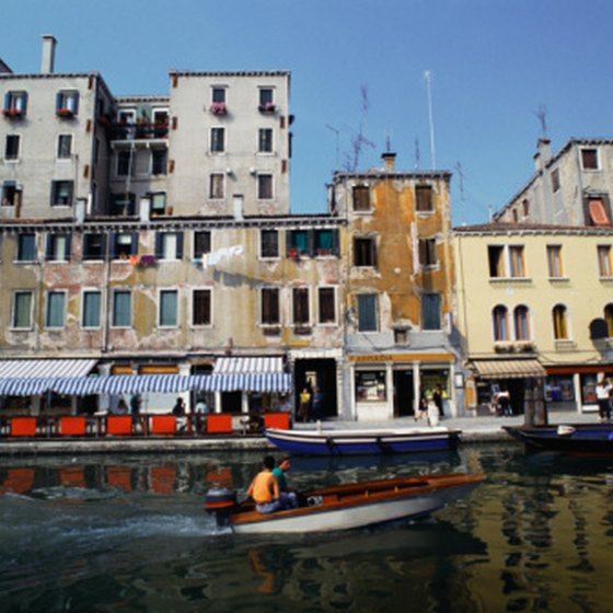 Venice's Santa Lucia Station is located at the western end of the grand canal.