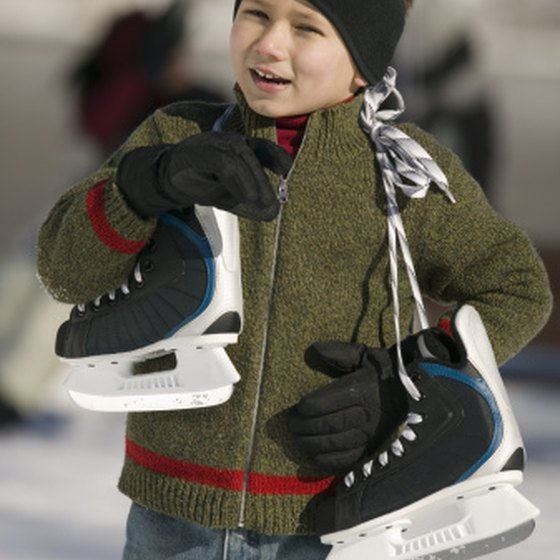 Take on the ice and get the feel of winter at a Los Angeles area skating rink.