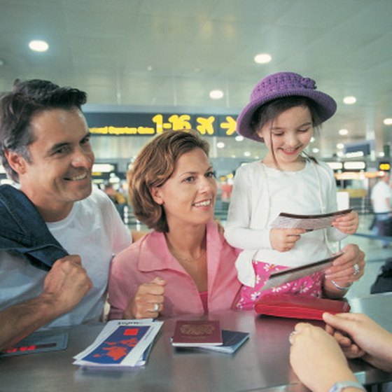 Kids need up-to-date international passports along with their parents.