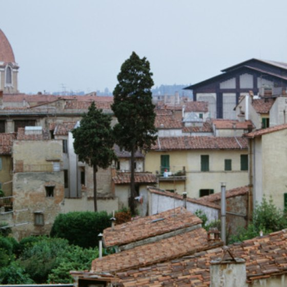 Experience all Italy has to offer, including the compact urban landscape of Florence.