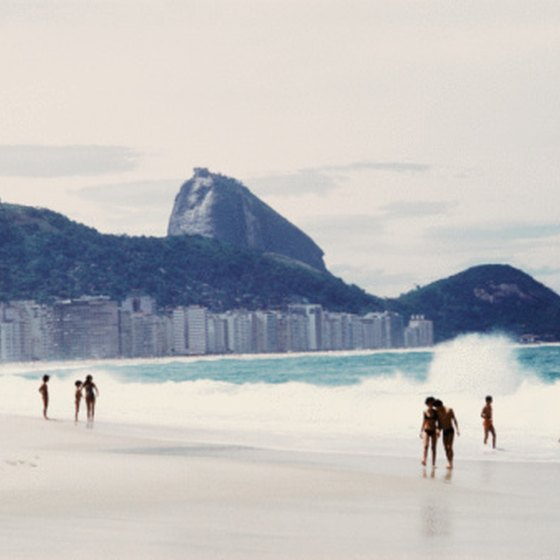 Travelers can enjoy the stunning beaches of Rio on a South American cruise.
