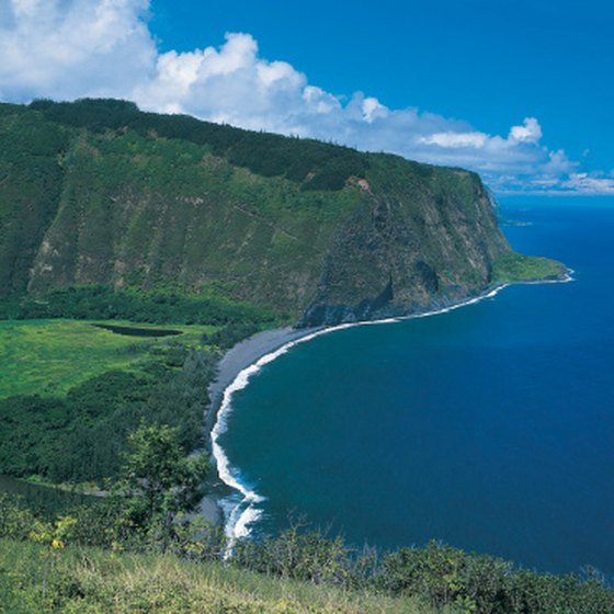 The Hawaiian Islands were formed by volcanic activity.