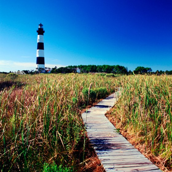 The Outer Banks are a short drive for travelers on an eastern route.