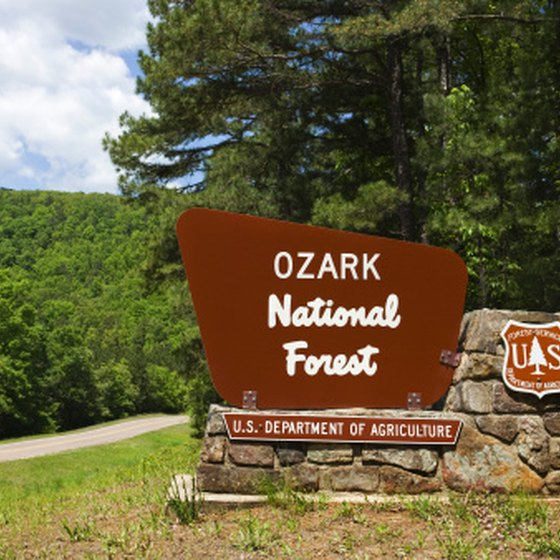The Ozark Mountains are full of places to explore.
